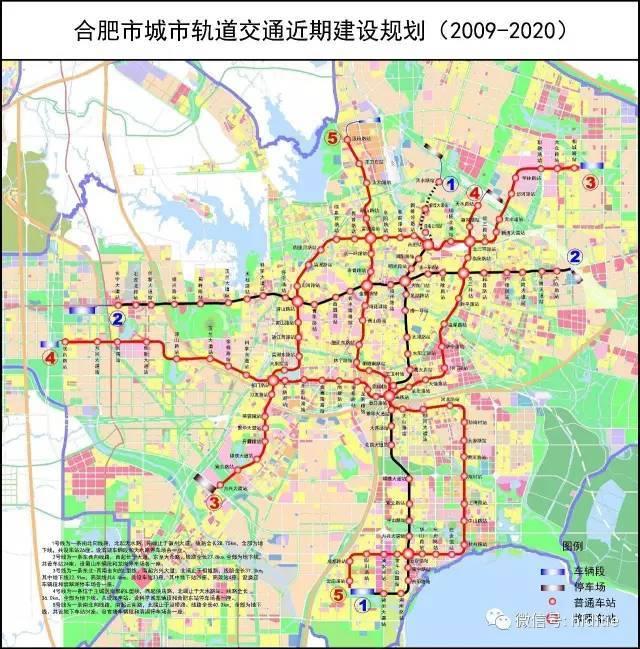 城市轨道交通(地铁)线网规划十五条轨道线,总长度约525 公里,图片