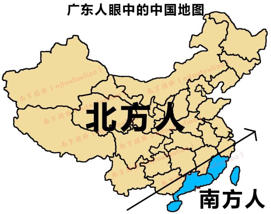 安徽人眼中的中国地图竟然是这样的