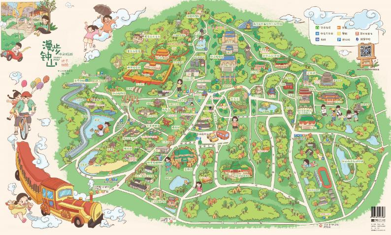 漫步钟山下午茶来袭 手绘地图带你玩遍紫金山
