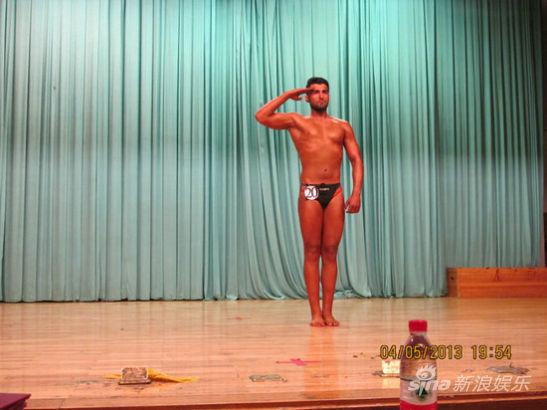 清华大学学霸健美比赛照爆红 猛男如云身材傲人图片