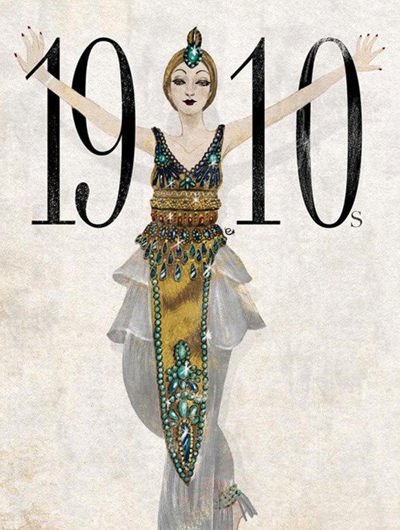 10张图了解百年时装风格变迁