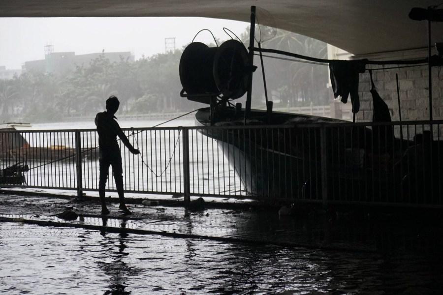 台风威马逊袭击海南