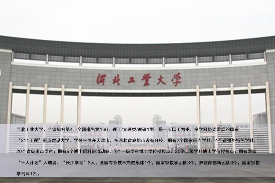 河北工业大学排名_河北工业大学