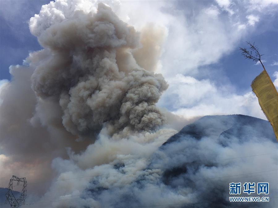 四川森林火灾持续一周