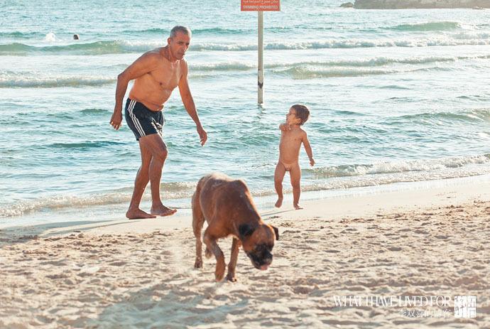 以色列海边享受无限春光图片