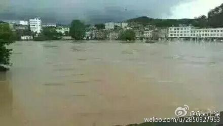 在户外怎么预知洪水