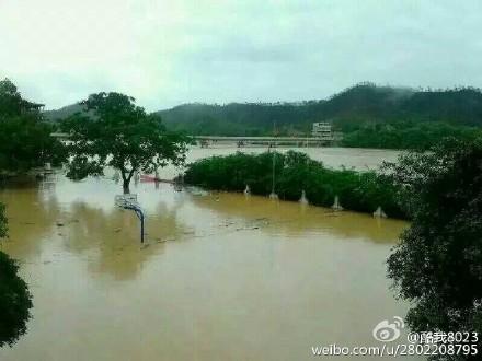 江西赣州发生特大洪水 图集