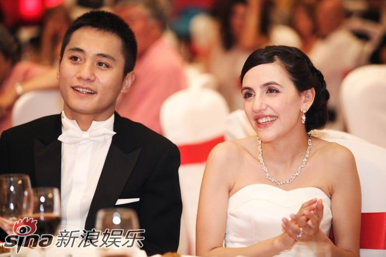 Liu Ye and his French bride