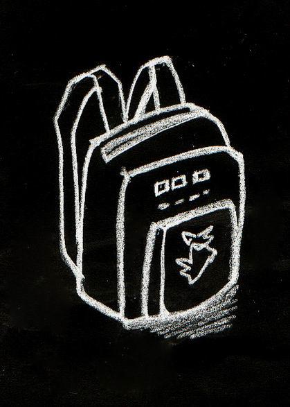 瓦娃手绘粉笔画