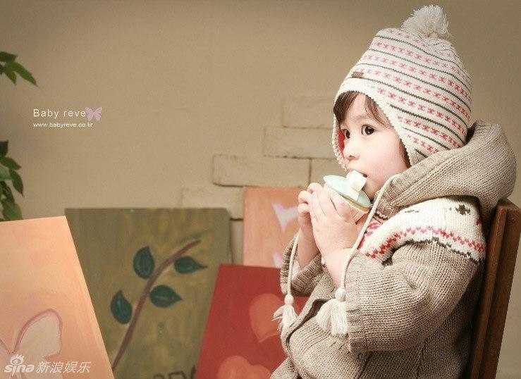 韩国大眼睛可爱宝宝萌照
