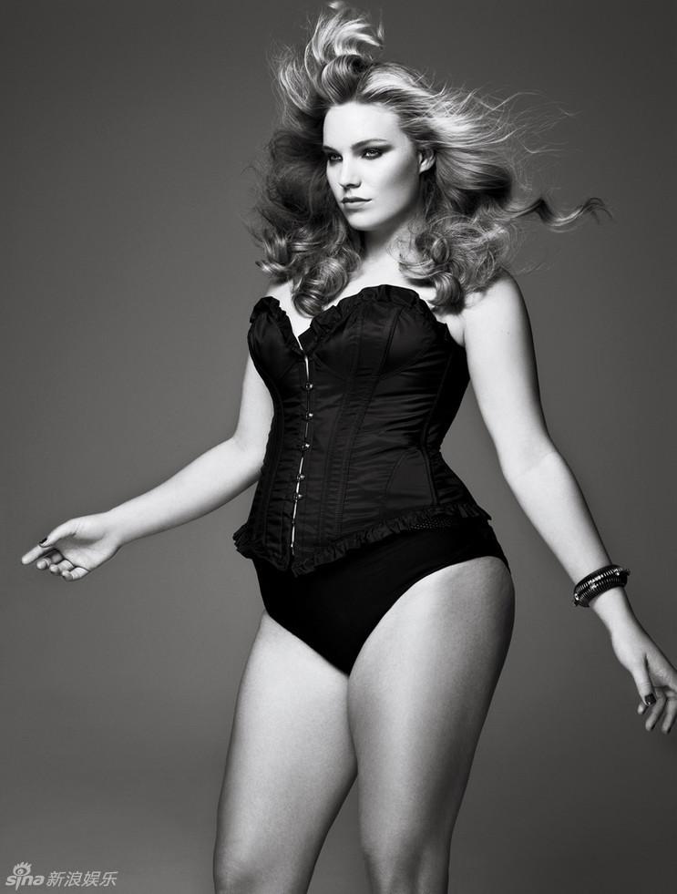 模特不再是骨感美女的专利