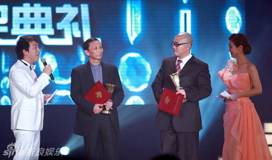 数字电影百合奖颁奖典礼在国家会议中心闭幕.久未在官方场合露面