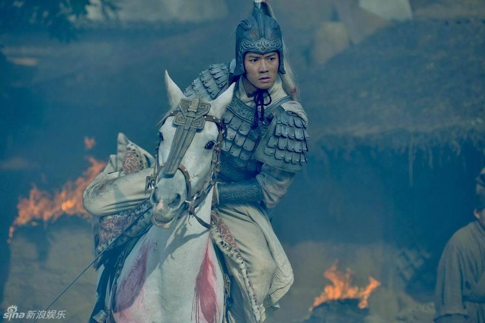 图 聂远演绎酷帅赵云 观众期待 长坂坡之战