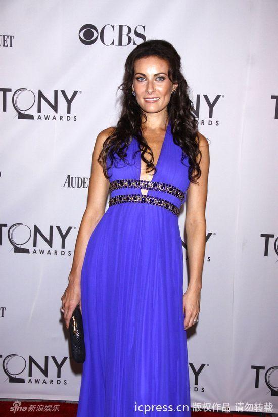 新浪娱乐讯 第65届托尼奖颁奖典礼在纽约市灯塔剧院举行,众多戏剧