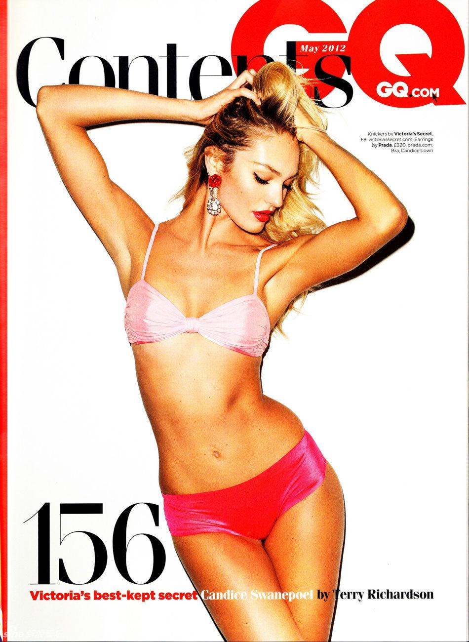 高清组图 超模坎蒂丝 斯瓦内普尔登 GQ 封面