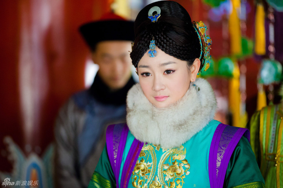 组图 山河恋 张檬演绎皇太极挚爱海兰珠