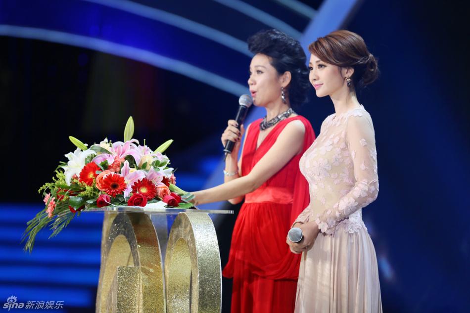 """新浪娱乐讯 """"2012国剧盛典""""在安徽卫视跨年播出,孙俪、杨幂、柳"""