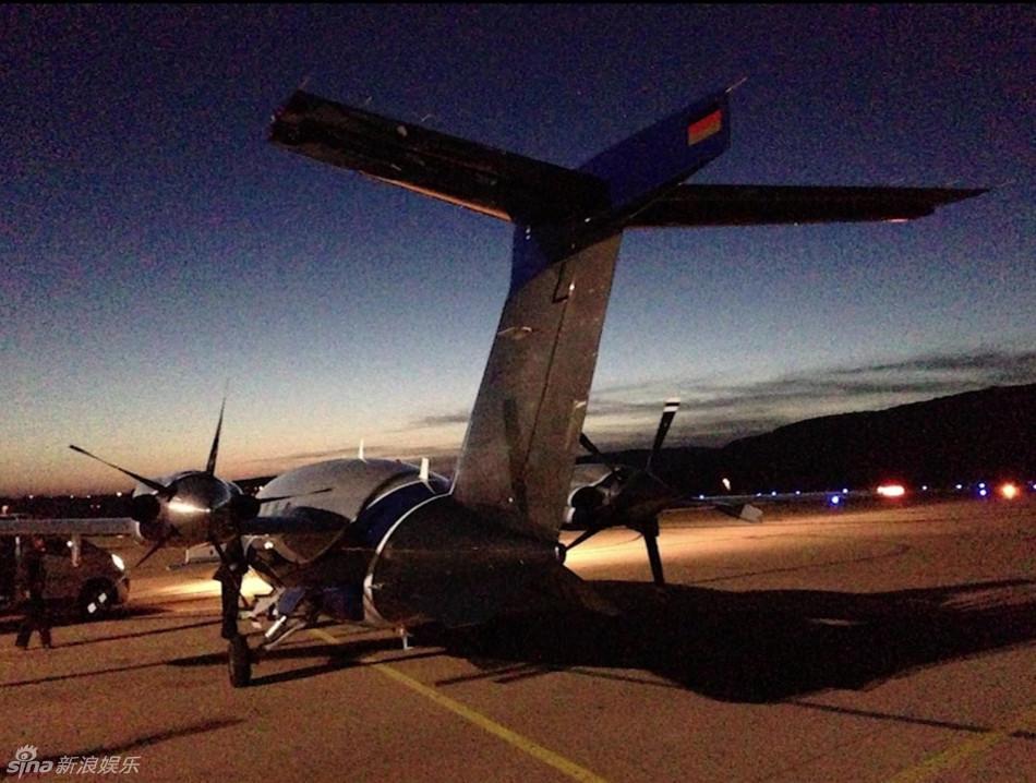 私人飞机也在mv中出现