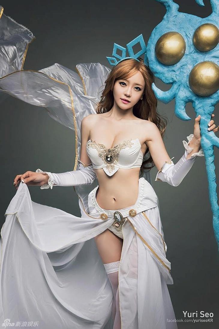 韩星徐宥利自曝性感惹火COS照