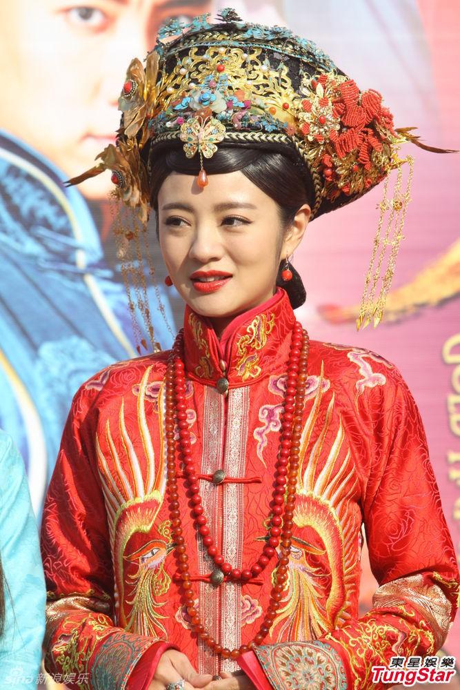 组图 安以轩新剧当新娘力挺杜淳否认当小三