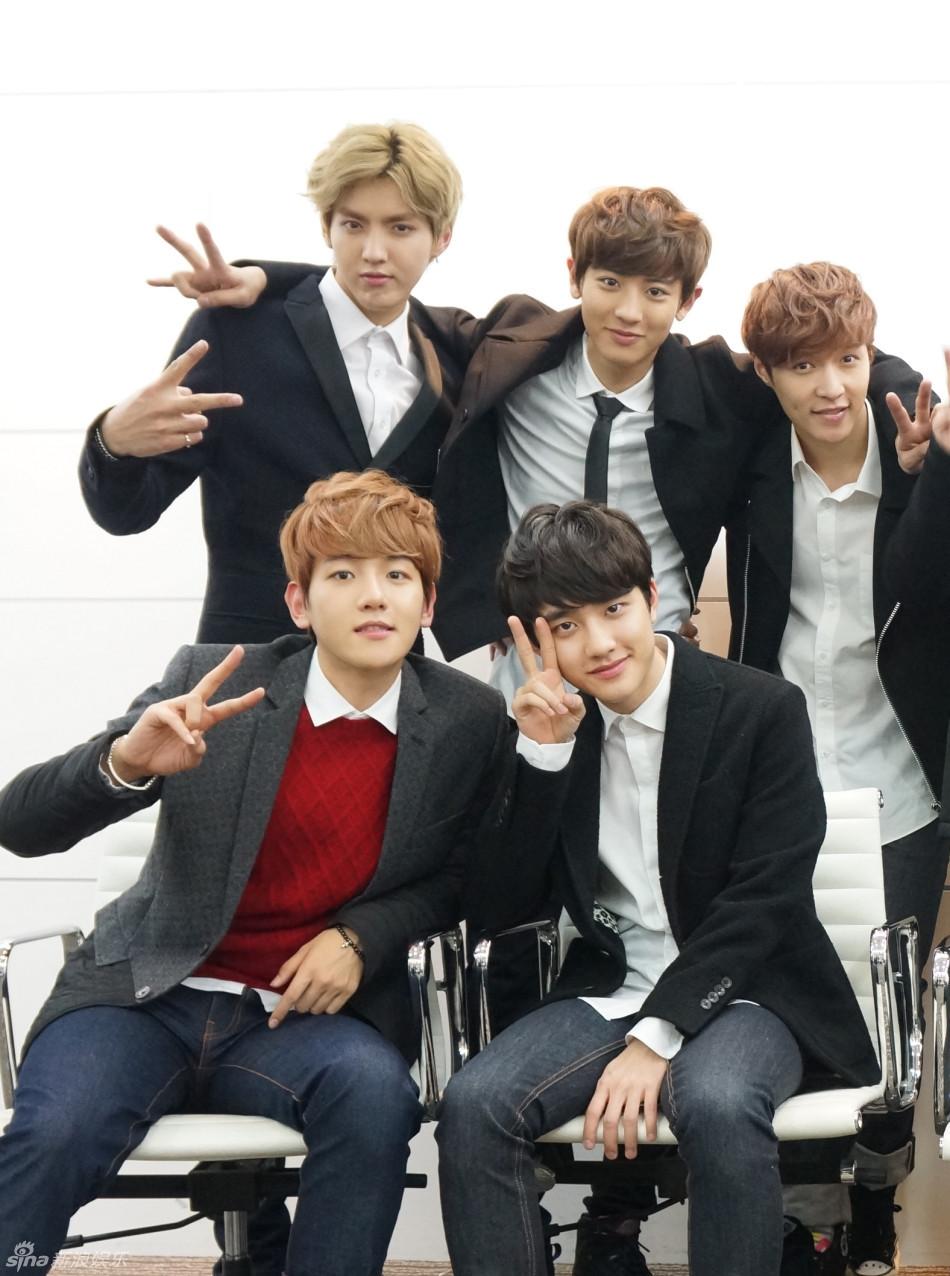 exo五位成员可爱