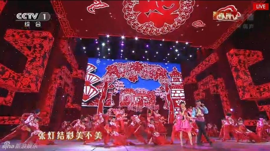 组图:阿宝王二妮春晚歌曲《张灯结彩》_娱乐频