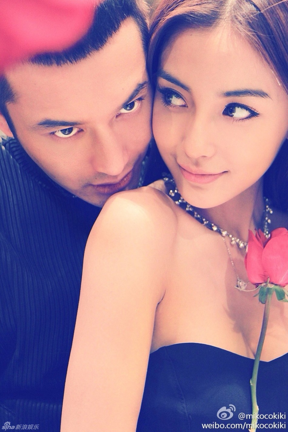 [Other] Huang Xiaoming and Angelababy are 'Officially ... | 950 x 1425 jpeg 238kB