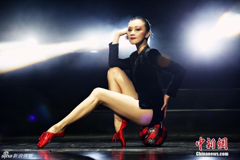 东方芭蕾美女性感演绎