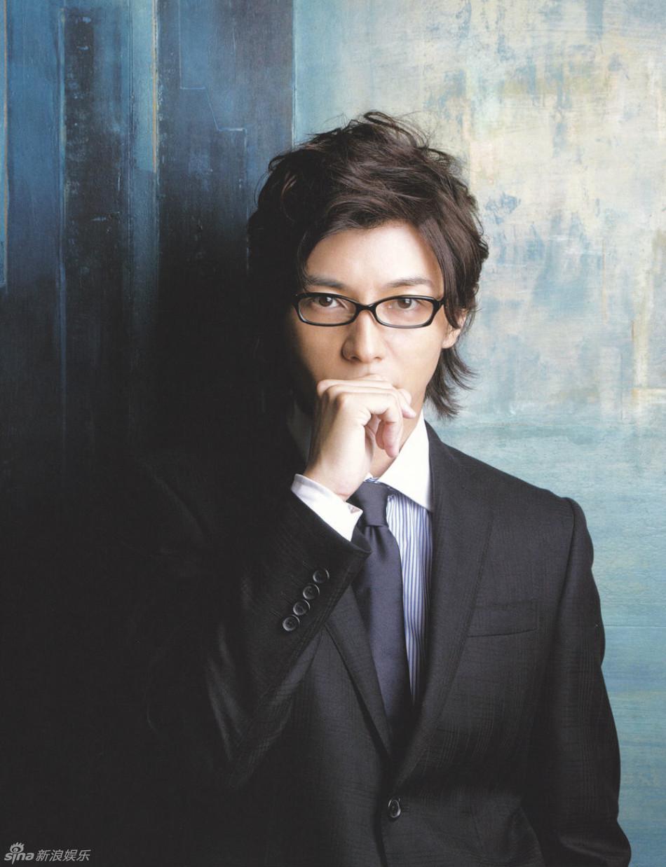 组图 藤木直人 毕业于早稻田大学的儒雅大叔