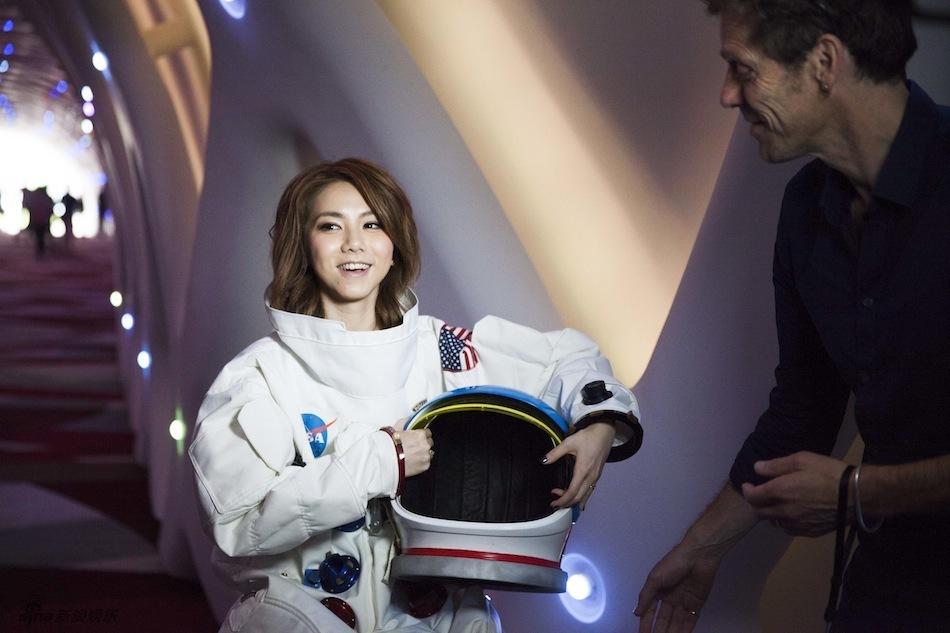 鄧紫棋將成為航天員