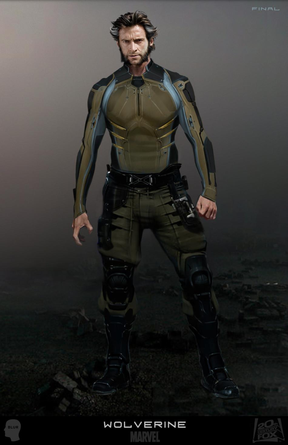 《x战警:逆转未来》造型设计 金刚狼酷炫