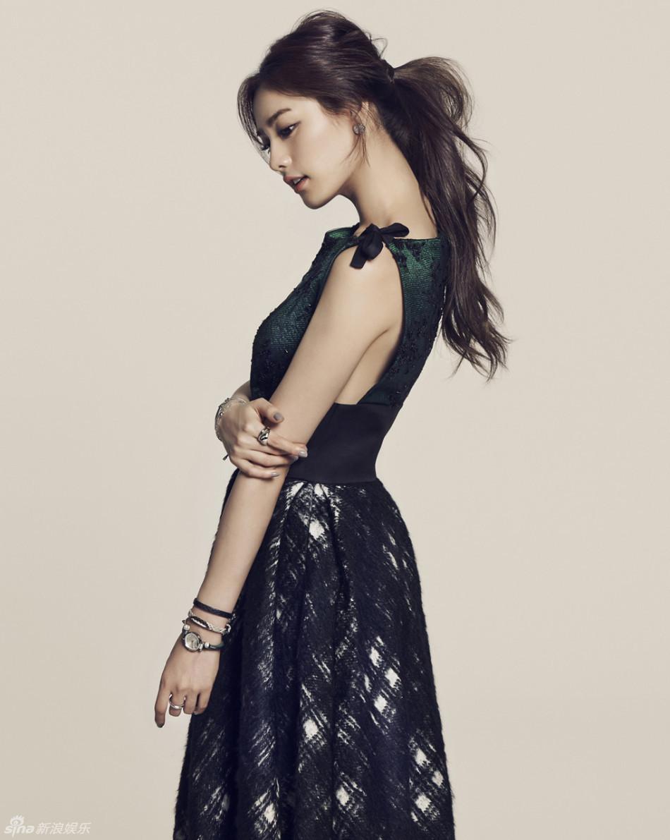 策划 韩星NANA被评全球最美 小方脸迎来春天图片