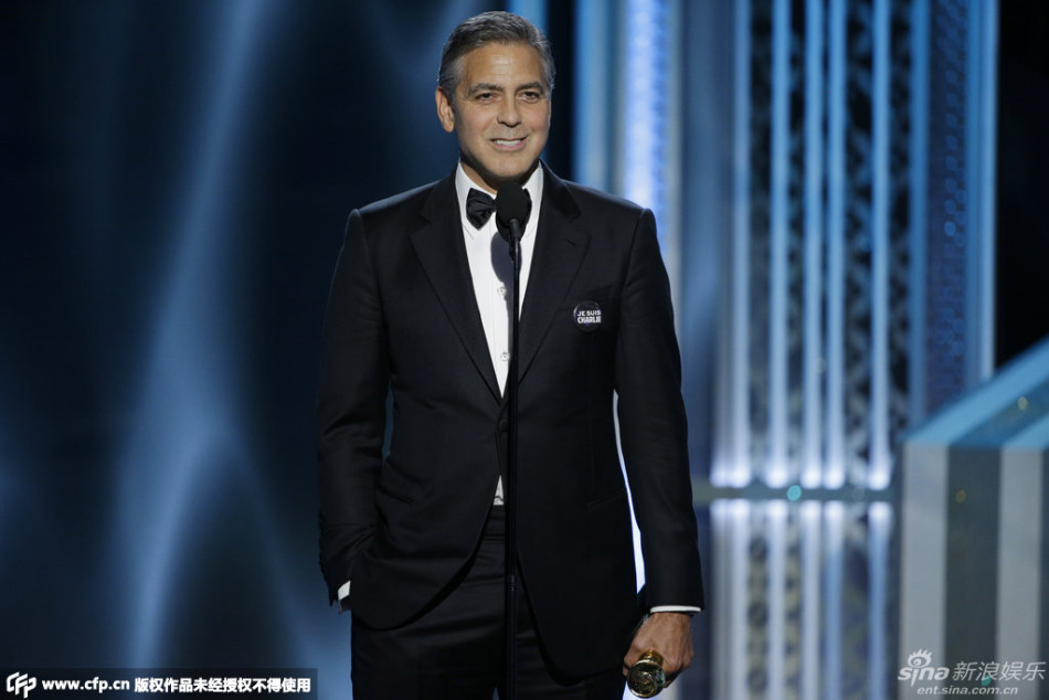 George Clooney at the Golden Globes January 2015 - Page 6 704_1528412_182503