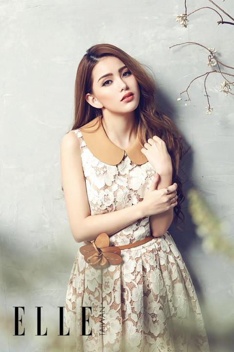 娱乐派—美图:周杰伦娇妻昆凌写真 呈现花样少女的甜梦