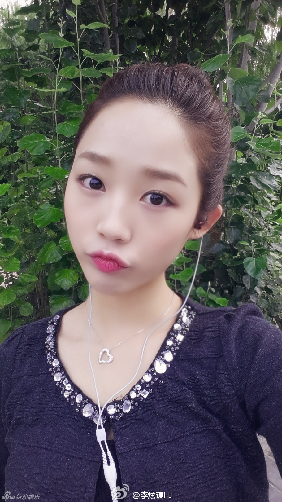 组图:雪糕妹妹李炫臻生活照曝光 笑容甜美可爱_高清