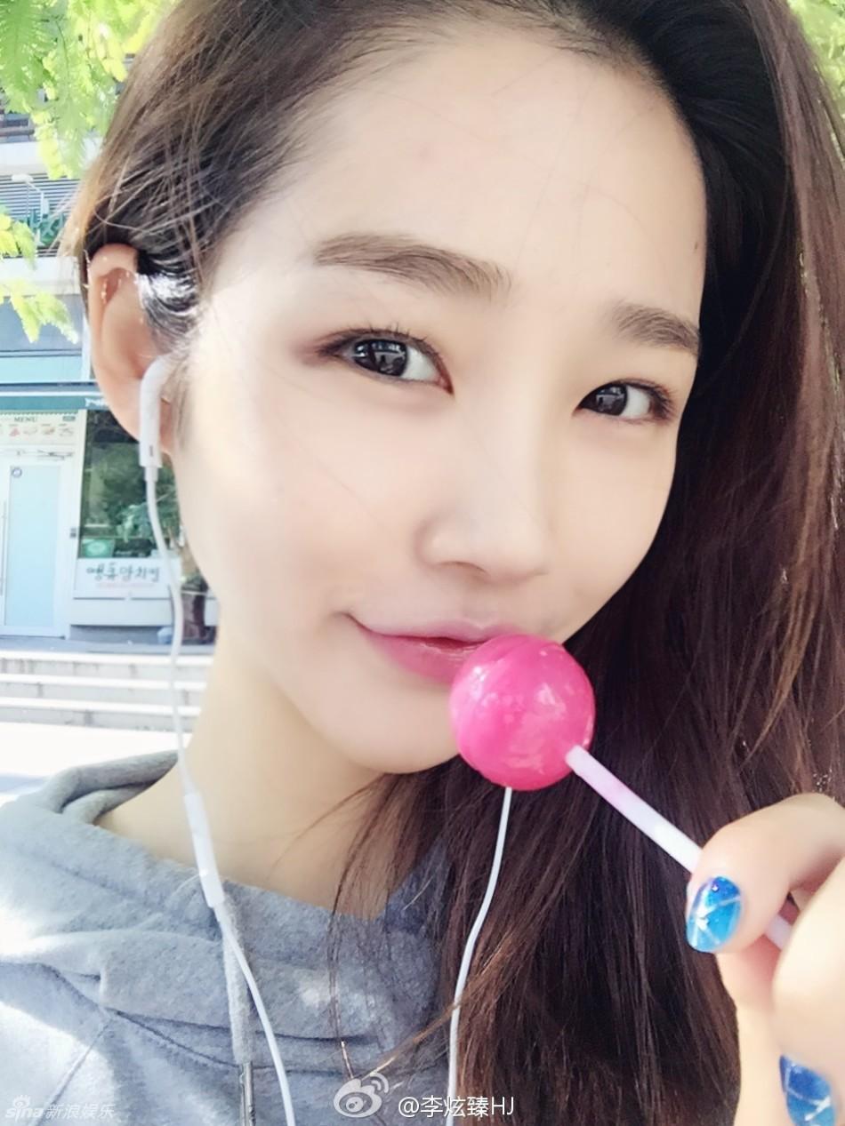 娱乐派—美图:雪糕妹妹李炫臻生活照曝光 笑容甜美可爱