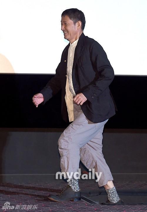 组图 深夜食堂 韩国宣传 小林薰微笑儒雅