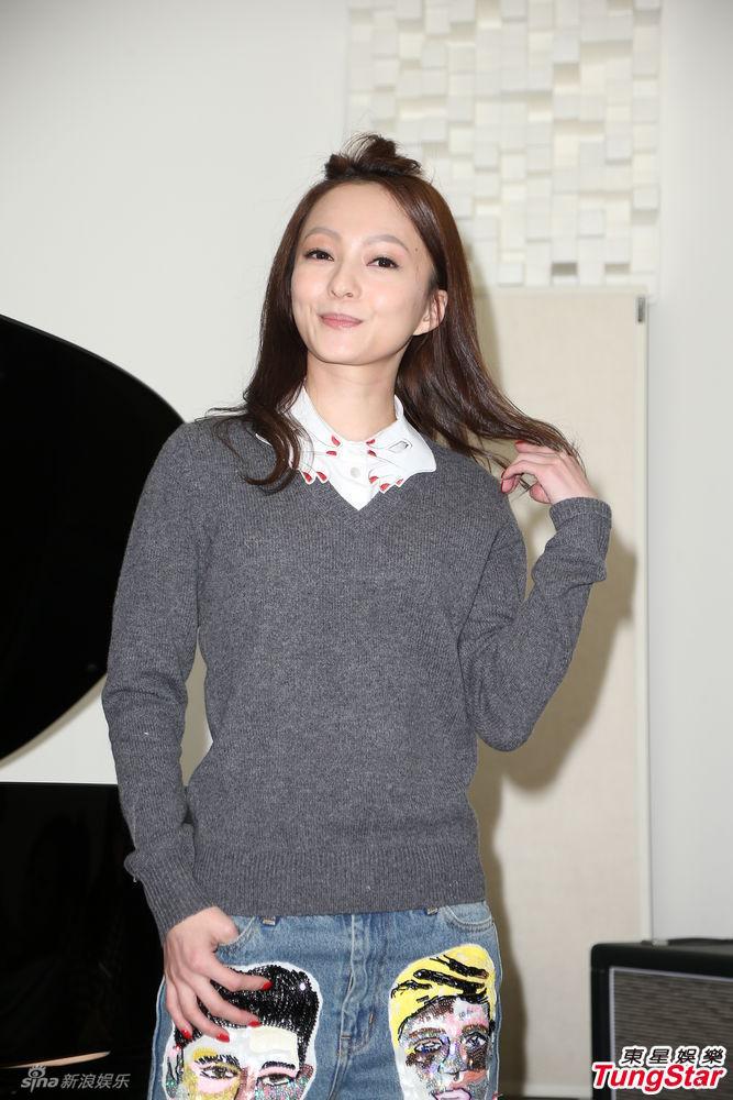 组图 张韶涵邀女粉合录新歌 男友Sky成谜