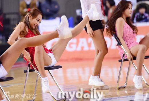 韩国篮球宝贝