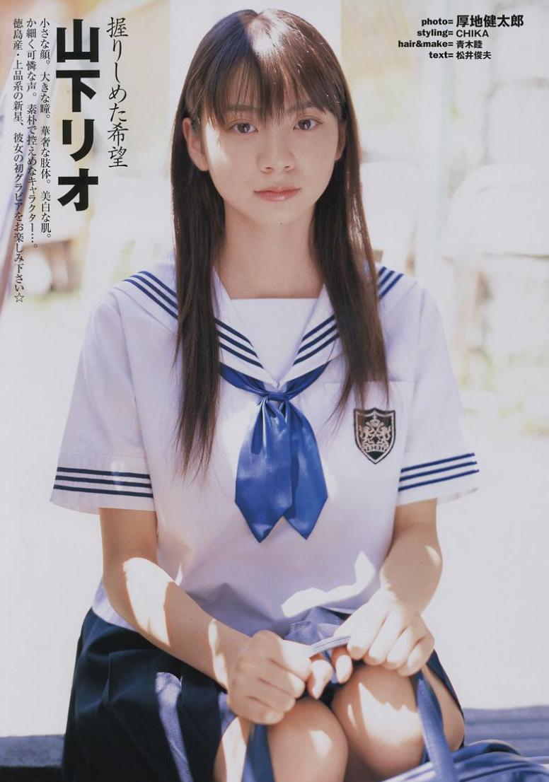 小林莉绪-组图 青春无敌 日本水手服美少女大盘点