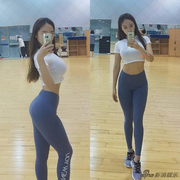 韩体大女神上围傲人
