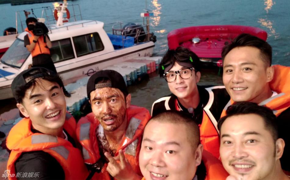 《我们的挑战》冲浪进食 阮经天频吐奶黄晓明变泥人形象全毁