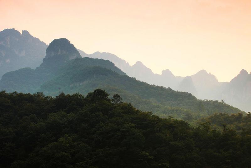"""山西蟒河风景区 邂逅""""北方小桂林"""""""