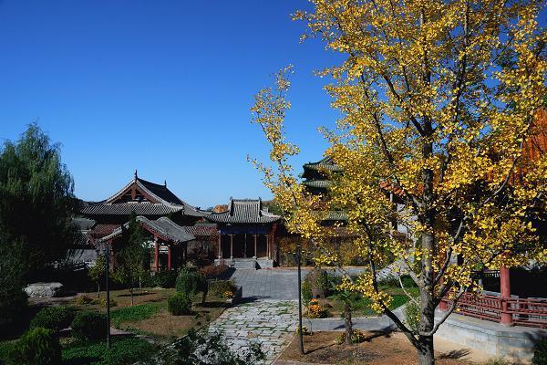 """""""国之瑰宝""""的琉璃悬隔宝塔,是中国楼阁式塔中的佳例.""""海会龙图片"""