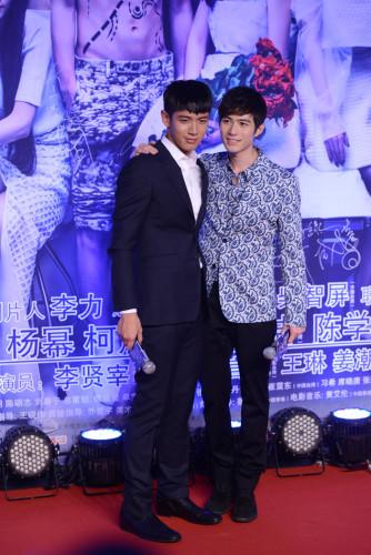 """由郭敬明执导的电影《小时代3:刺金时代》在京举行""""成长无憾 为你"""
