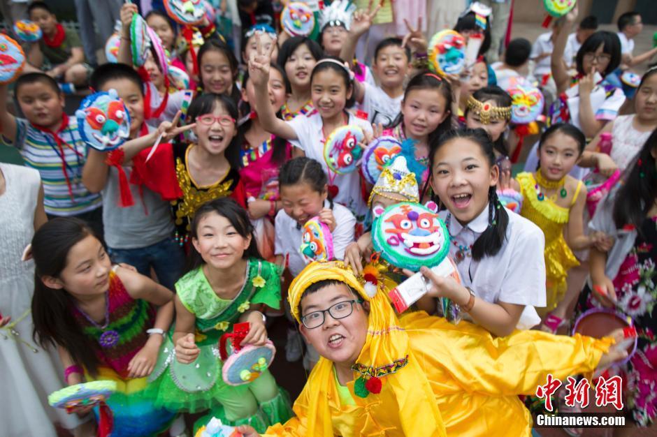 旨在让孩子们了解中华民族的五十六个民族文化习俗,同时形成对自