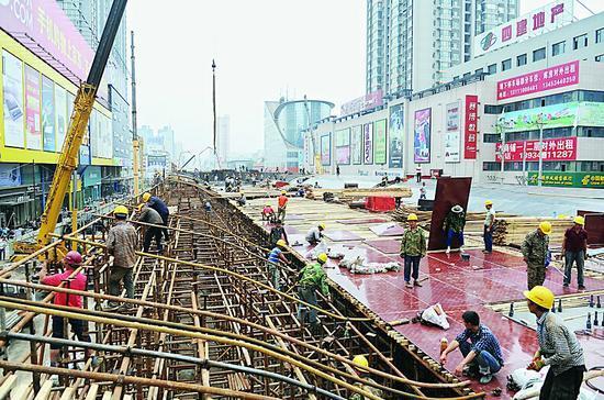 太原学府街南内环道路改造最新进展