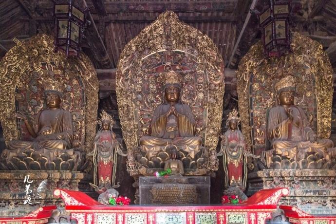 雕栏玉砌广胜寺 名在琉璃塔妙在雕塑图片