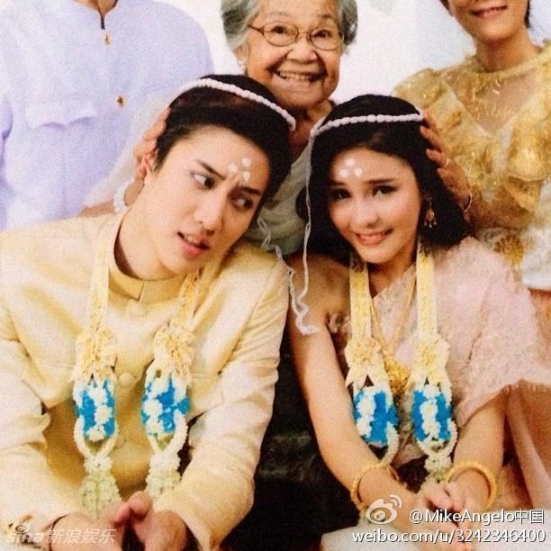 娱乐讯 近日,泰国版《浪漫满屋》在微博刮起一股小清新风,可爱的图片