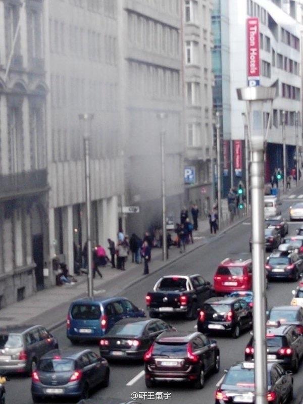 比利时武装特警在布鲁塞尔击毙恐怖分子